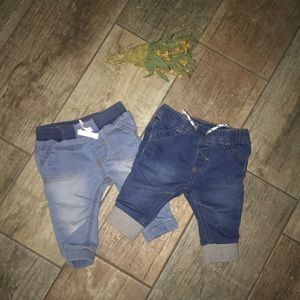 Little boys fitted jeans